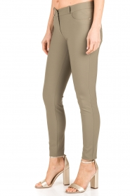 ELISABETTA FRANCHI | Skinny pantalon Felicia | khaki  | Afbeelding 4