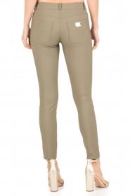 ELISABETTA FRANCHI | Skinny pantalon Felicia | khaki  | Afbeelding 5