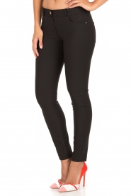 ELISABETTA FRANCHI | Skinny pantalon Felicia | zwart  | Afbeelding 4