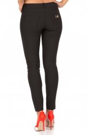 ELISABETTA FRANCHI | Skinny pantalon Felicia | zwart  | Afbeelding 5