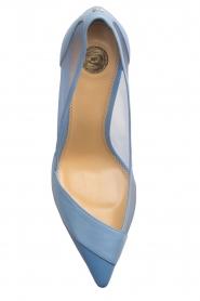 ELISABETTA FRANCHI | Leren pumps Ninfe| blauw  | Afbeelding 6