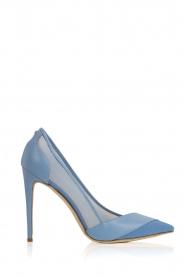 ELISABETTA FRANCHI | Leren pumps Ninfe| blauw  | Afbeelding 1