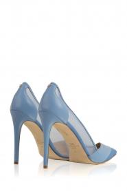 ELISABETTA FRANCHI | Leren pumps Ninfe| blauw  | Afbeelding 5