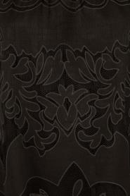 Ana Alcazar | Kanten blouse Loey | zwart  | Afbeelding 6