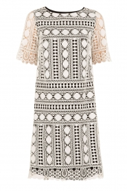 Ana Alcazar |  Lace dress Lora | black-white  | Picture 1