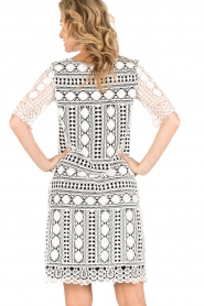 Ana Alcazar |  Lace dress Lora | black-white  | Picture 5