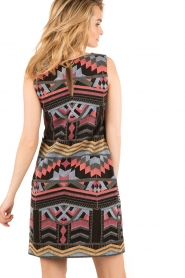 Ana Alcazar |  Short dress Filipy | multi   | Picture 5