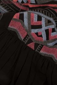 Ana Alcazar | Maxijurk Ethnic | zwart  | Afbeelding 6