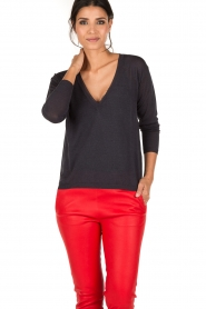 Ruby Tuesday | Top Unan | donkerblauw  | Afbeelding 2