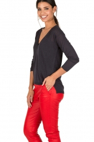 Ruby Tuesday | Top Unan | donkerblauw  | Afbeelding 4