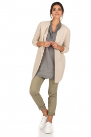 Ruby Tuesday |  Tunic top Zami | grey  | Picture 3