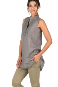 Ruby Tuesday |  Tunic top Zami | grey  | Picture 4