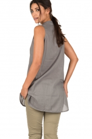 Ruby Tuesday |  Tunic top Zami | grey  | Picture 5