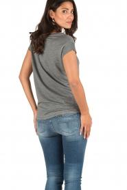 Ruby Tuesday | T-shirt Anna | grijs  | Afbeelding 5