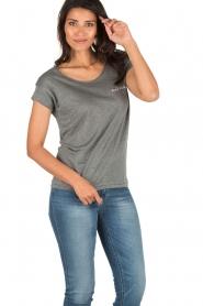 Ruby Tuesday | T-shirt Anna | grijs  | Afbeelding 2