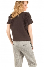 Ruby Tuesday |  Knitted top Uno | dark grey  | Picture 5