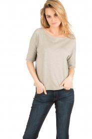 Ruby Tuesday | T-shirt Calvi | grijs  | Afbeelding 2