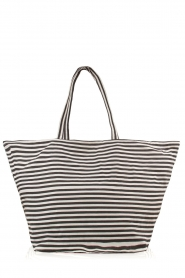 Shopper Stripe | zwart/wit