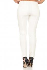 Patrizia Pepe | Pantalon Bianco | wit  | Afbeelding 5