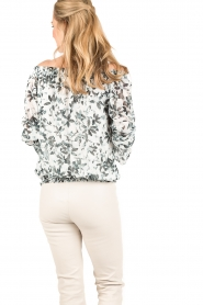 Patrizia Pepe | Off-shoulder blouse Mhairi | print  | Afbeelding 5
