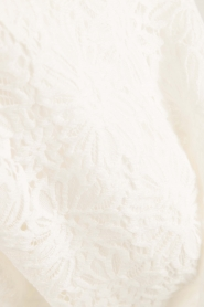 Patrizia Pepe | Kanten jurk Fiorenza | wit  | Afbeelding 6