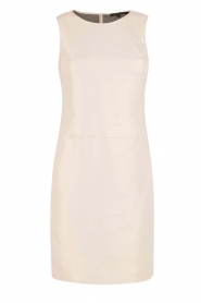Patrizia Pepe |  Sleeveless cocktail dress Jaclyn | light gold  | Picture 1