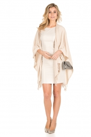 Patrizia Pepe |  Sleeveless cocktail dress Jaclyn | light gold  | Picture 3