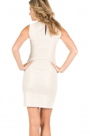 Patrizia Pepe |  Sleeveless cocktail dress Jaclyn | light gold  | Picture 5