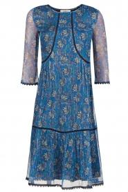 ba&sh | Zijden jurk Ora | blauw  | Afbeelding 1