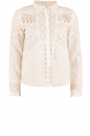 ba&sh | Crochet blouse Emalia | wit  | Afbeelding 1