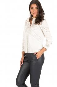 ba&sh | Crochet blouse Emalia | wit  | Afbeelding 4