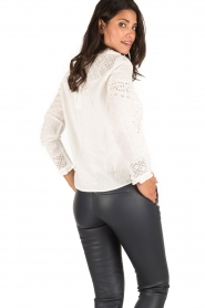 ba&sh | Crochet blouse Emalia | wit  | Afbeelding 5