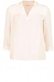 ba&sh | Zijden blouse Leila | nude  | Afbeelding 1