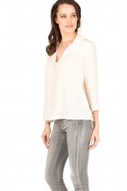 ba&sh | Zijden blouse Leila | nude  | Afbeelding 4