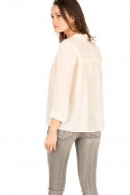 ba&sh | Zijden blouse Leila | nude  | Afbeelding 5
