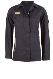 MASONS | Utility jas Field Jacket | blauw  | Afbeelding 1