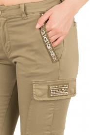 MASONS |  Chino pants Anita | groen  | Picture 6