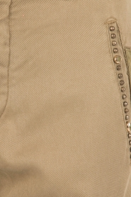 MASONS | Girlfriend cargo broek met patches Chile | khaki  | Afbeelding 6
