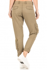 MASONS | Girlfriend cargo broek met patches Chile | khaki  | Afbeelding 5