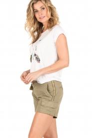 MASONS | Cargo shorts Donna | khaki  | Afbeelding 3