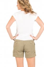 MASONS | Cargo shorts Donna | khaki  | Afbeelding 4