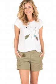 MASONS | Cargo shorts Donna | khaki  | Afbeelding 2