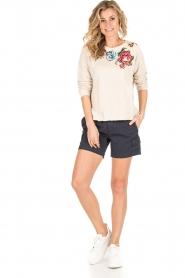 MASONS | Cargo shorts Donna | donkerblauw  | Afbeelding 3