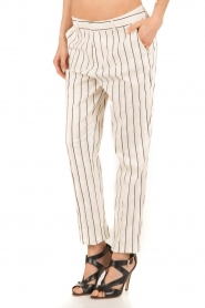 Amatør |  Trousers Meaning | white/black  | Picture 4