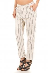 Amatør | Pantalon Meaning | wit/zwart  | Afbeelding 4