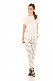 Amatør |  Trousers Meaning | white/black  | Picture 3
