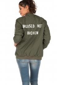 Zoe Karssen | Bomberjas Bruised | groen  | Afbeelding 5