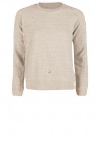 Zoe Karssen | Sweater Destroyed | grijs  | Afbeelding 1