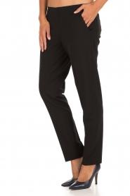 Leon & Harper | Pantalon Pauline | zwart  | Afbeelding 4