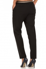 Leon & Harper | Pantalon Pauline | zwart  | Afbeelding 5